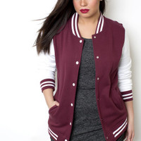 "PA Varsity ""Letterman"" Jacket - Shop Women's Missy & Plus Size Clothing"
