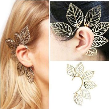 Elven Ear Cuff - Leaves