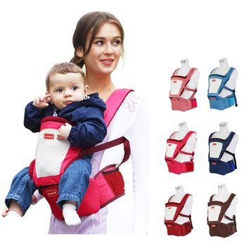 Baby Carrier Four Seasons Waist Stool General Multi-functional Hipseat Children Summer Breathable Baby Sling 3-36M