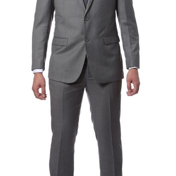 ZNL101 Light Grey Slim Fit Modern Men's 2 pc Suit