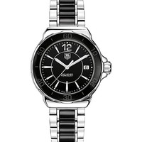 TAG HEUER - Formula 1 steel & ceramic watch 37mm | Selfridges.com