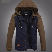 Men's Winter Windbreaker Thicken  Coat