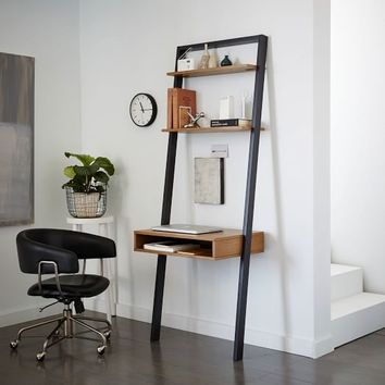 Ladder Shelf Desk