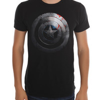 Marvel Captain America: The Winter Soldier Shield Slim-Fit T-Shirt