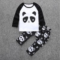 Baby Panda Boy Clothing Set