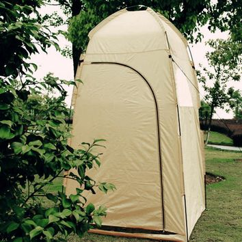 Tan Changing Tent