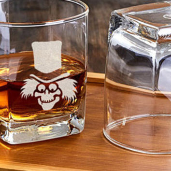 Legend Of Zelda Engraved Whiskey Glass Legend Of Zelda Custom Whiskey Cup Game Customized Glass Gift For A Friend