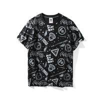 'AAPE' Print Short Sleeve Summer T-shirts [10425658183]