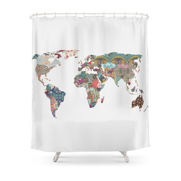 Society6 Louis Armstrong Told Us So Shower Curtains