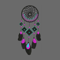Dream Catcher Machine Embroidery Designs - Embroidery Design 304 - Embroidery Art Online