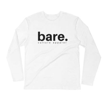 Bare Culture Long Sleeve Fitted Crew