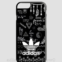 New Design Adidas Black Art For iPhone 7 and 7 Plus Hard PLastic Cover Case