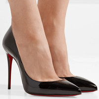 Christian Louboutin - Pigalle Follies 100 patent-leather pumps