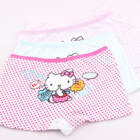 Girl cotton hello kitty underwear briefs panties baby kids pants quality short children panties X08