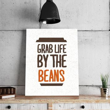 Grab the Beans 11 x 14 Canvas Set (Free Shipping)