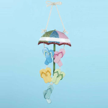 12 Christmas Ornaments - Beach Umbrella