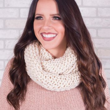 Chunky Knit Infinity Scarf - Multiple Options