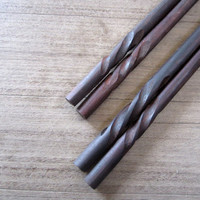 Wooden chopsticks unique & high quality 100% handmade design no.22