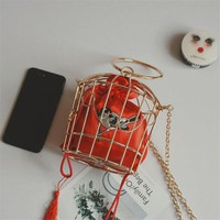 Bird Cage Mini Tote