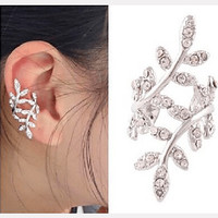 Crystal Vine Ear Cuff