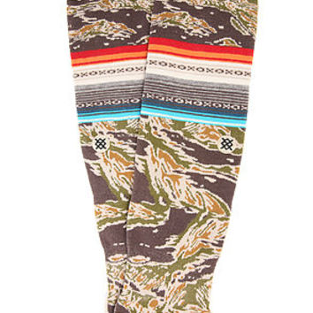 Stance Socks The Saigon Socks in Green Camo : Karmaloop.com - Global Concrete Culture