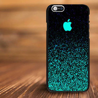 Mint Sparkle artistic For iPhone 4/s, 5/s, 5c,6, 6+ and Samsung S3, S4, S5 Case Plastic or Rubber