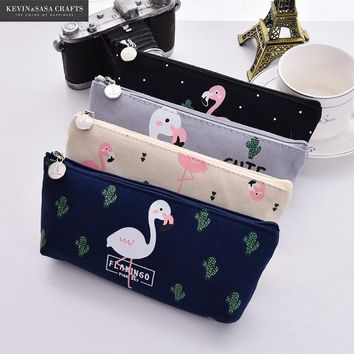 1Pc Cute Pencil Case Fabric School Supplies Bts Stationery Gift  School Cute Pencil Box Pencilcase Pencil Cases School Tools