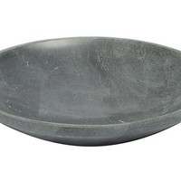 One Kings Lane - The Natural Look - Soapstone Shallow Bowl