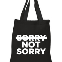"Demi Lovato ""Sorry Not Sorry"" 100% Cotton Tote Bag"