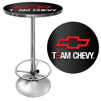 Team Chevy Racing Pub Table