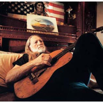 Willie Nelson Laid Back Portrait Poster 11x17