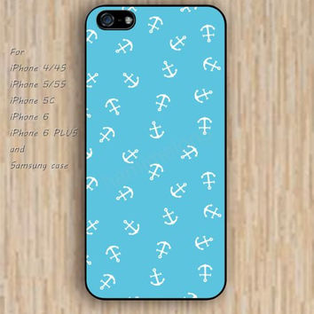 iPhone 5s 6 case anchor lake blue case phone case iphone case,ipod case,samsung galaxy case available plastic rubber case waterproof B681