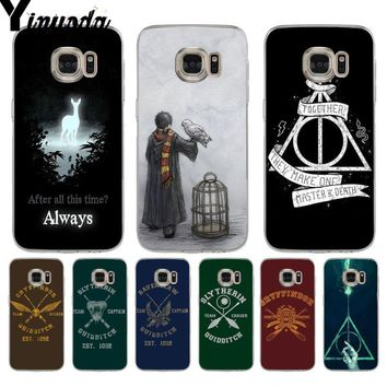Yinuoda Harry Potter always Slytherin EST. 1092 soft phone case for samsung  galaxy S9 plus 8354589ac8
