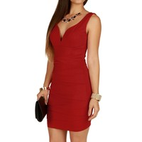 Red Bangin Bod Bandage Dress