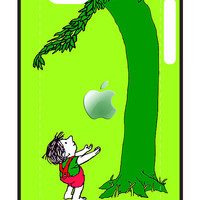 Green, Tree and Kids with an apple iphone 5, iphone 4 4s, iPhone 3Gs, iPod Touch 4g case, Available for T-Shirt man and woman by Pointsale Store