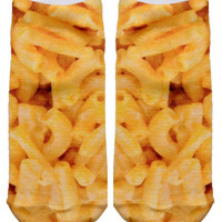 Mac and Cheese Ankle Socks