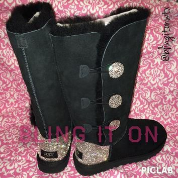 Blinged Ugg boots