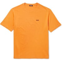 Raf Simons - Printed Cotton-Jersey T-Shirt