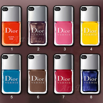iPhone 4 Case iphone 4s case Nail Polish iphone case by ArtTrip