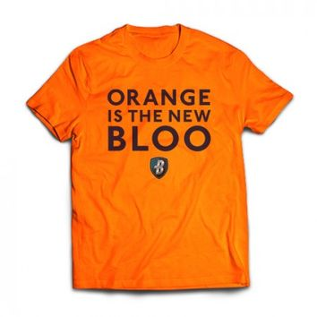 """Orange Is The New Bloo"" T-Shirt"