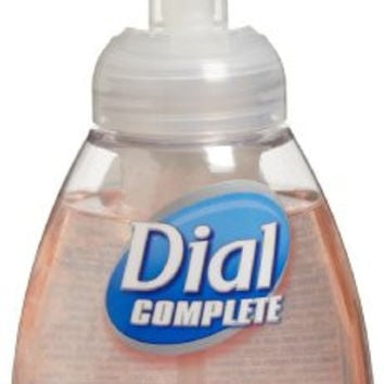 Dial Complete 1185112 Healthcare Antimicrobial Foaming Hand Soap, 7.5 oz. Tabletop Pump Bottle (Pack of 8)
