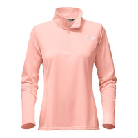 Women's Tech Glacier 1/4 Zip in Tropical Peach by The North Face - FINAL SALE