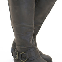 Sweet Cocoa Riding Boots