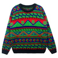Bohemia Sweater with Crew Neck