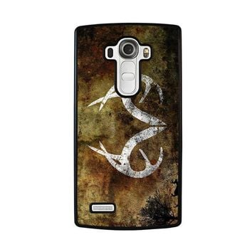 realtree deer camo lg g4 case cover  number 1