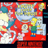 Krusty's Super Fun House (Super Nintendo Entertainment System, 1992)