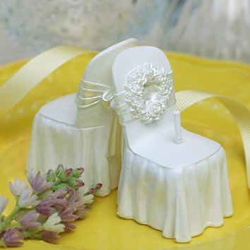 Wedding Chair Shaped Birthday Candle