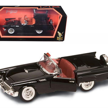 1957 Ford Thunderbird Black 1-18 Diecast Model Car by Road Signature