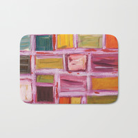 Abstract Painting Bath Mat by mariameesterart