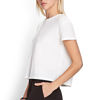 Boxy Textured Knit Top